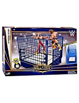 WWE Wrestling Superstar Rings Classic Steel Cage Playset