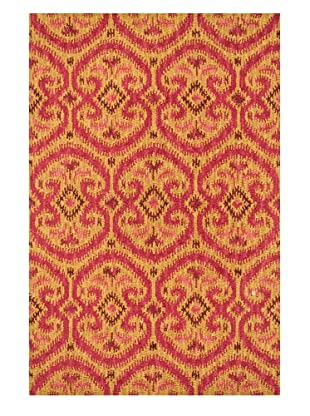Loloi Rugs Milano Rug (Gold / Berry)
