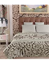 Home Candy Double Bed Cozy Flano Blanket