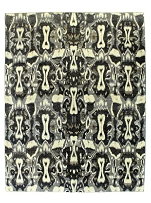 Bashian Rugs One-of-a-Kind Hand Knotted Manali Rug, Grey, 8' x 10' 4