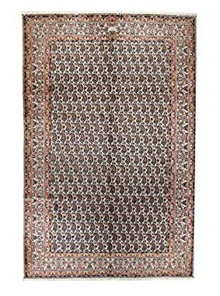 Bashian Rugs One-of-a-Kind Hand Knotted Persian Mood Rug, Ivory, 6' 7