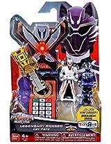 Power Rangers Super Megaforce - Jungle Fury Legendary Ranger Key Pack, Yellow/White/Purple