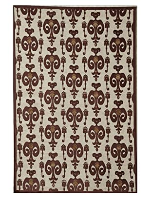Rugs America Salerno Chenille Ikat (Ikat Red)