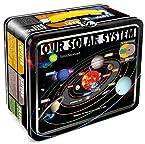 Aquarius Smithsonian Solar System Tin Lunch Box