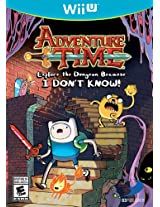 Adventure Time: Explore the Dungeon Because I Don't Know (Nintendo Wii U) (NTSC)