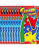 Ja-Ru Fishing Game Foam Fun (Party Favor Bundle Pack of 8)
