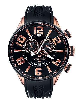 Viceroy 432109-95 - Reloj cronógrafo unisex de cuarzo con correa de caucho