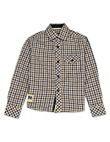 Cool Gingham Full Sleeve Boys Shirt Vintage