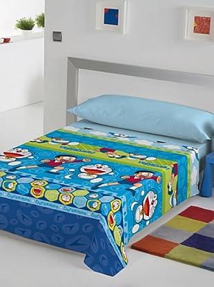 Euromoda Juego De Sábanas Doraemon & Nobita (Multicolor)