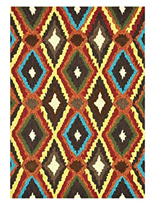 Loloi Rugs Enzo Rug (Brown/Multi)