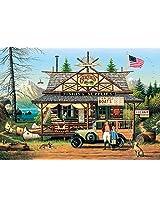 Buffalo Games Charles Wysocki: Proud Lil Angler 300 Piece Jigsaw Puzzle by Buffalo Games
