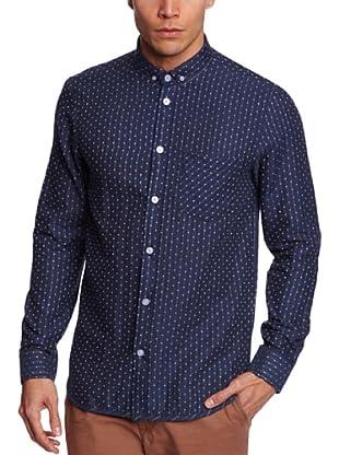 NUNC Camisa Lecce (Azul Oscuro)