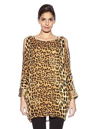 Love U Bluse Diamant (Leopard)