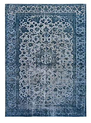 Kalaty One-of-a-Kind Pak Vintage Rug, Blue, 8' x 11' 3