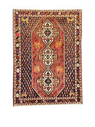 L'Eden del Tappeto Teppich Shahre Babak rot/blau 184t x t133 cm