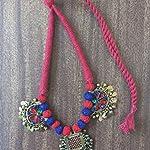 Vintage afghan pendant neckchain - NRBSEN623