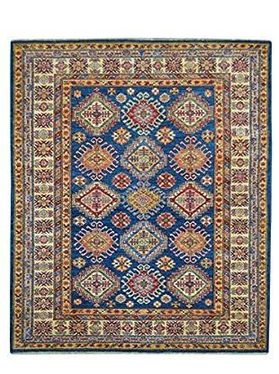 Kalaty One-of-a-Kind Kazak Rug, Blue, 4' 9