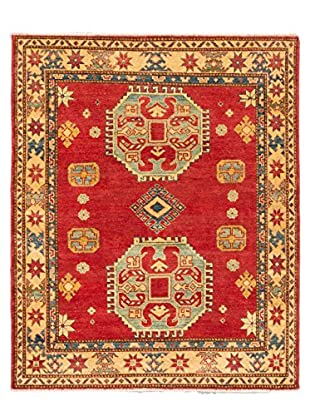 eCarpet Gallery One-of-a-Kind Hand-Knotted Gazni Rug, Red, 4' 3