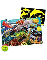 Puzzle Doubles In Glow The Dark Sea Life