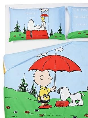 Cartoons Home Textile Parure Copripiumino Snoopy