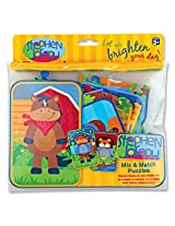 Stephen Joseph Art Mix & Match Puzzle for Boys
