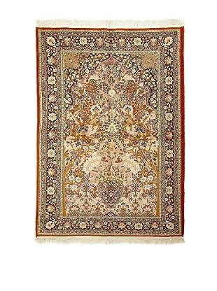 Roubini Fine Srinagar Silk Ground Rug, Multi, 4