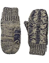 Muk Luks Women's Cable-Knit Mittens