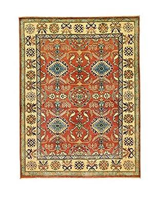 L'Eden del Tappeto Teppich Uzebekistan rot/mehrfarbig 200t x t150 cm