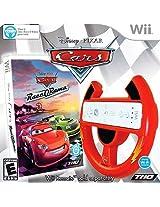 Cars Race O Rama With Cars Wii Wheel | Wii