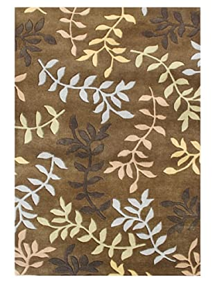 Horizon Rugs New Zealand Wool Rug (Gold/Oak/Yellow/Blue)