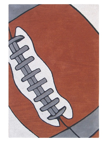 KinderLOOM Football Star (Brown)