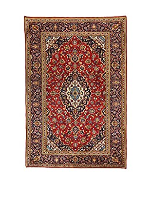 L'Eden del Tappeto Teppich M.Kashan rot/mehrfarbig 293t x t196 cm