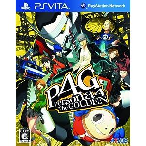 ペルソナ4 ザ・ゴールデン 特典 PlayStation Vita用スクリーン(タッチスクリーン)オリジナル保護シート(壁紙付き)付き