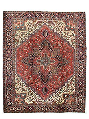Bashian One-of-a-Kind Persian Heriz Rug, Rust, 8' 7