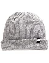 DC Men's Clap Beanie, Heather Grey, One Size