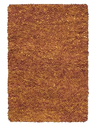 Hand-Knotted Plateau Shag, Light Brown, 4' 3