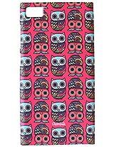 Chumbak Classic Owls Case for Xiaomi Mi 3 (Multicolor)