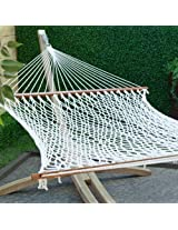 65'' Extra Wide Deluxe Cotton rope hammock