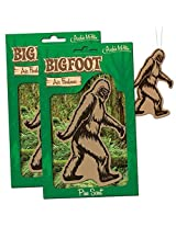 Bigfoot Air Freshener 2 Pack Pine Scent For Car Rv Trailer Tent Best Yeti Sasquatch Bigfoot Gifts