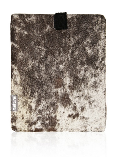 Natural iPad Cowhide Case (Tri-Color)