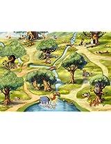 Komar Paper Hundertmorgenwald Wallpaper (256 cm x 0.3 cm x 182 cm, Multicolour)