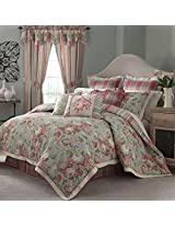 Waverly Spring Bling Comforter Set, 4-Piece