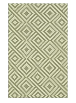Venice Beach Indoor/Outdoor Rug (Grey/Ivory)