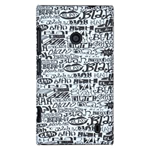 Alicia Souza's blah design case for Nokia Lumia 520/525
