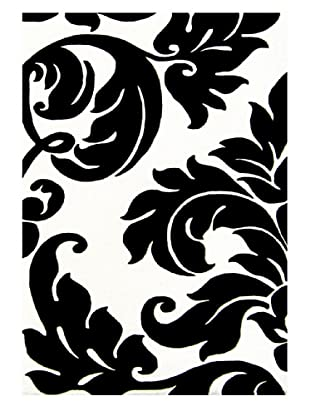 Alliyah Rugs Alliyah Collection (Ivory/Black)