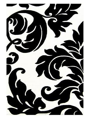 Alliyah Rugs Alliyah Collection (Ivory/Black)
