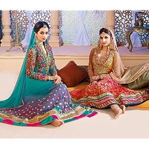 LifestyleMegamart SUBEL5413 Fascinating Green Salwar Suit