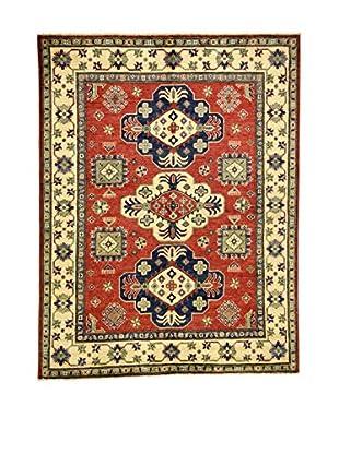 Eden Carpets Alfombra Uzebekistan Rojo/Crema 207 x 159 cm