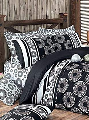 Colors Couture Bettdecke und Kissenbezug Sema