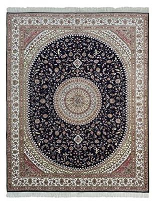 eCarpet Gallery 300L Silk Rug, Cream, 8' x 10'